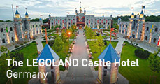 The LEGOLAND Castle Hotel