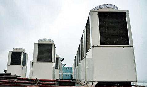 The Specifications of the Selected Air Conditioner
