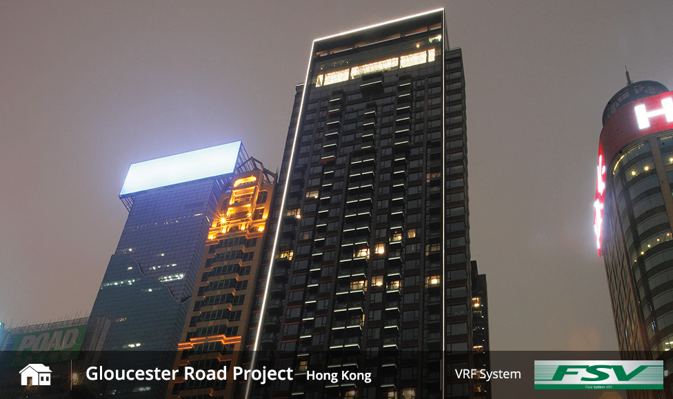 Gloucester Road Project Hong Kong