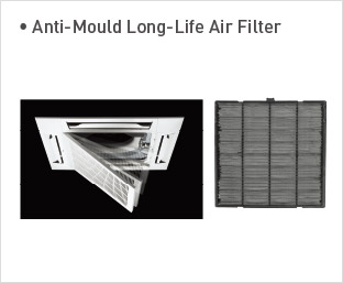 Anti-Mould Long-Life Air Filter