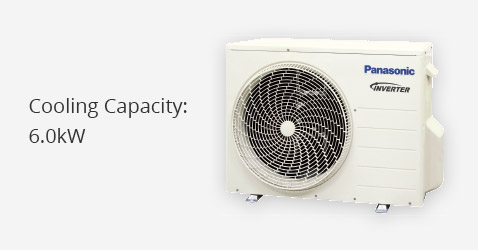 Cooling Capacity: 6.0kW