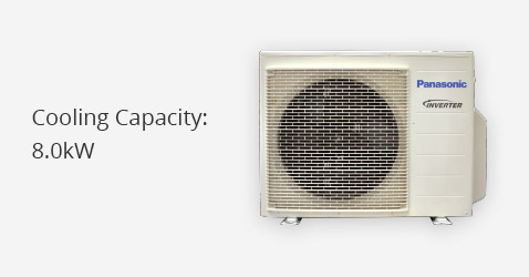 Cooling Capacity: 8.0kW
