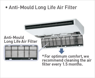 Anti-Mould Long Life Air Filter