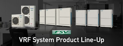 VRF System Product Line-Up