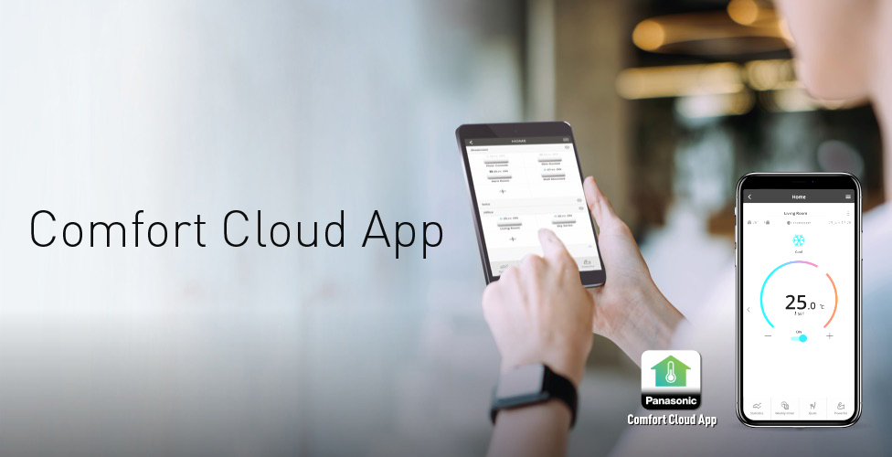 Learn more about Comfort Cloud App