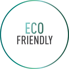 Eco friendly text image