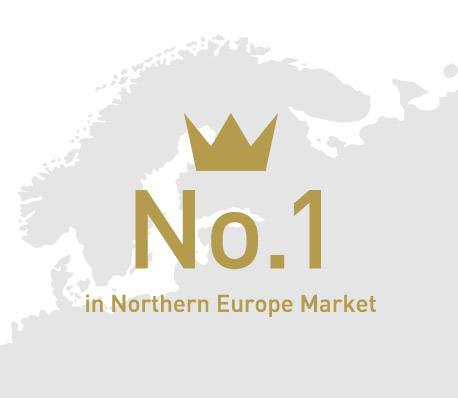 No. 1 in Northern Europe Market